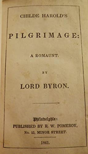 bryons childe harolds pilgrimage the byronic Childe harold's pilgrimage by lord byron:  'she walks in beauty,  she walks in beauty by byron: analysis, theme & interpretation related study materials.