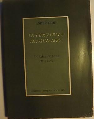 INTERVIEWS IMAGINAIRES: GIDE, Andre