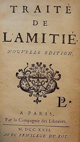 TRAITE DE L'AMITIE: SACY, Louisde