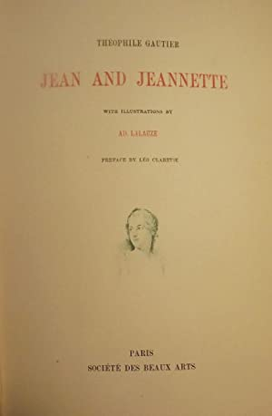 JEAN AND JEANNETTE: GAUTIER, Theophile
