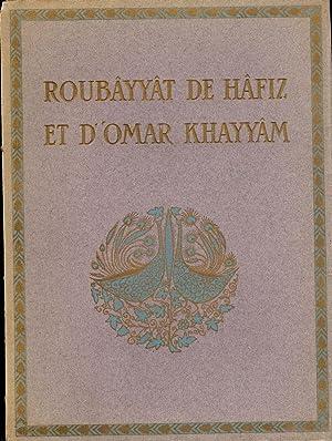 ROUBAYYAT DE HAFIZ ET D'OMAR KHAYYAM/ RUBIYAT OF OMAR KHAYYAM: FITZGERALD, Edward