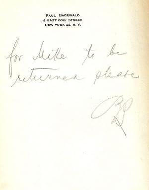 FELIX M. WARBURG: A BIOGRAPHICAL SKETCH: ADLER, Cyrus