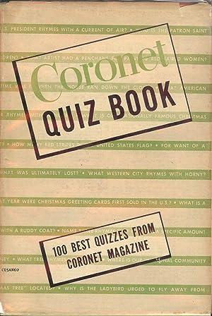 CORONET QUIZ BOOK: CORONET