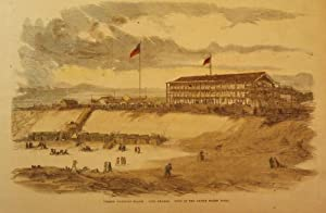 LONG BRANCH: SUMMER WATERING-PLACES. VIEW OF THE UNITED STATES HOTEL: FRANK LESLIE'S ILLUSTRATED ...