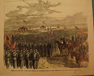 LONG BRANCH: REVIEW STATE MILITIA: HARPER'S WEEKLY
