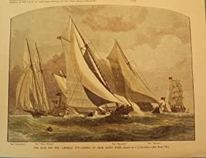 SANDY HOOK: RACE FOR THE AMERICA CUP: HARPER'S WEEKLY