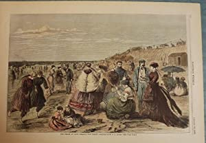 LONG BRANCH: THE BEACH: HARPER'S WEEKLY