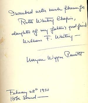 NEW ENGLAND SON: PRESCOTT, Marjorie Wiggin