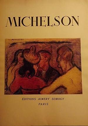 MICHELSON: PEINTURES: LASSAIGNE, Jacques