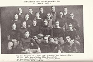 THE HISTORY OF FOOTBALL AT HARVARD 1874-1948: BEALLE, Morris A.
