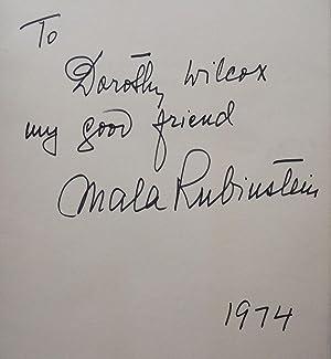 THE MALA RUBINSTEIN BOOK OF BEAUTY: RUBINSTEIN, Mala