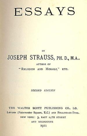 ESSAYS: STRAUSS, Joseph