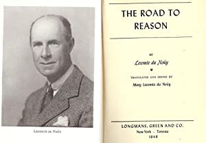 THE ROAD TO REASON: DU NOUY, Lecomte