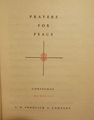 PRAYERS FOR PEACE: CHRISTMAS: FROHLICH, L.W.