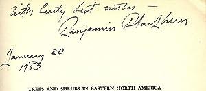 TREES AND SHRUBS IN EASTERN NORTH AMERICA: BLACKBURN, Benjamin