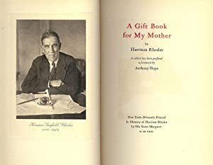 A GIFT BOOK FOR MY MOTHER: RHODES, Harrison