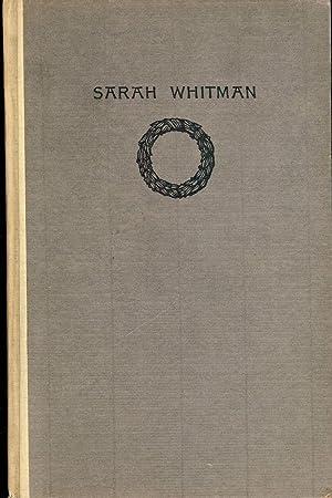 SARAH WHITMAN: WHITMAN, Sarah
