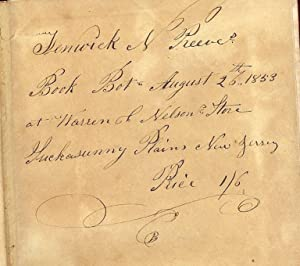 FATHER REEVES, THE METHODIST CLASS-LEADER SUCKASUNNA NJ: CORDEROY, Edward