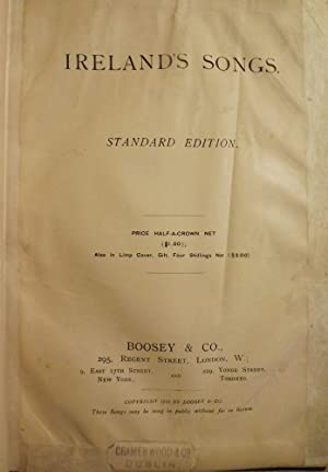 IRELAND'S SONGS: STANDARD EDITION: NO AUTHOR
