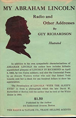 MY ABRAHAM LINCOLN: RICHARDSON, Guy