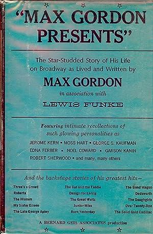 MAX GORDON PRESENTS: GORDON, Max