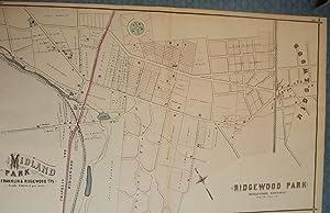 BERGEN COUNTY: MIDLAND PARK, RIDGEWOOD PARK, RIDGEWOOD: PEASE, C.C.