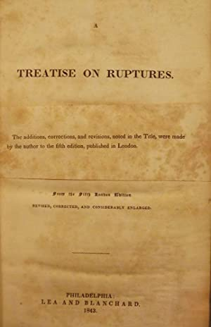 A TREATISE ON RUPTURES: LAWRENCE, W.