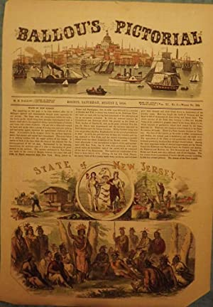 NEW JERSEY SCENES, 1856: BALLOU'S PICTORIAL