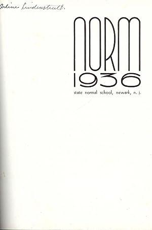 NORM 1936: STATE NORMAL SCHOOL, NEWARK, N.J.: TOWNSEND, Dr. M. Earnest
