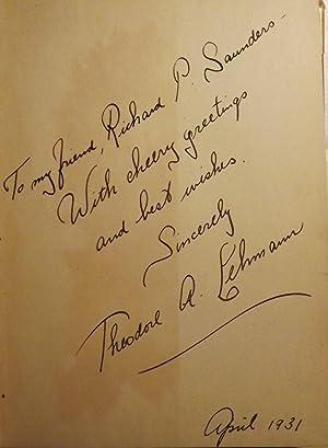POEMS: LEHMANN, Theodore A.