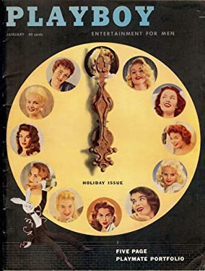 The Hustler in Playboy Magazine, January 1957: TEVIS, Walter S.