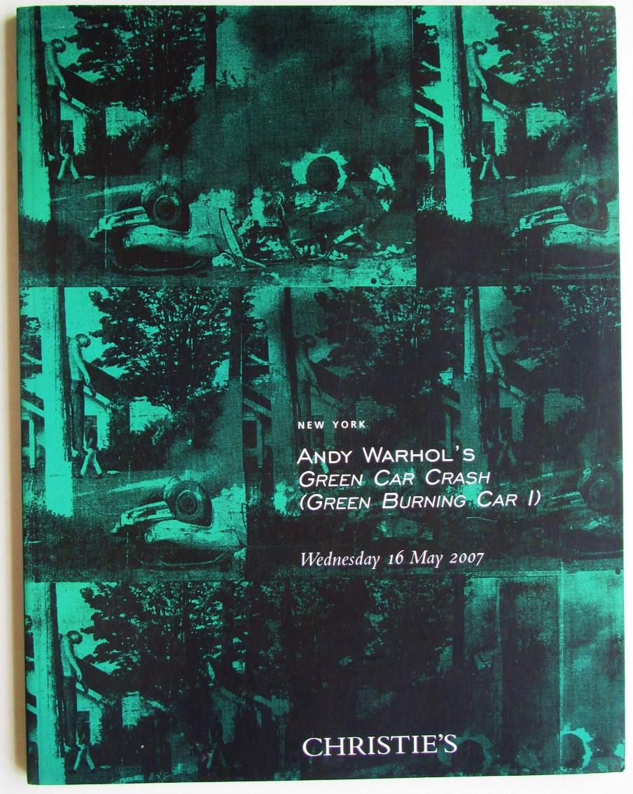 Andy Warhol S Green Car Crash Burning I Christie