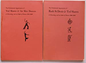 The Professional Appearances of Ruth St. Denis: Schlundt, Christena L.