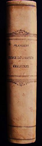 Codice Diplomatico Amalfitano: Filangieri, Riccardo