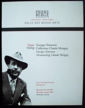 Georges Simenon Collection Claude Menguy: Pierre Berge
