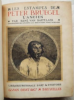Les Estampes de Peter Bruegel L' Ancien: Bastelaer, Rene Van