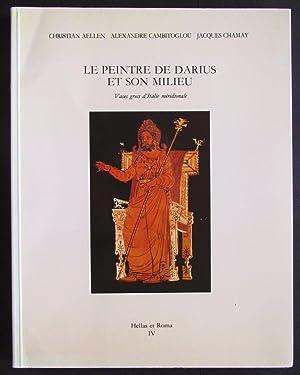 Le peintre de Darius et son milieu: Aellen Christian; Cambitoglou