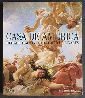 Casa de America: Rehabilitacion del Palacio de Linares (Spanish Edition)