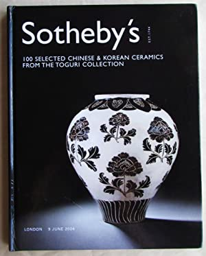 100 Selected Chinese and Korean Ceramics from the Toguri Collection: Sotheby's