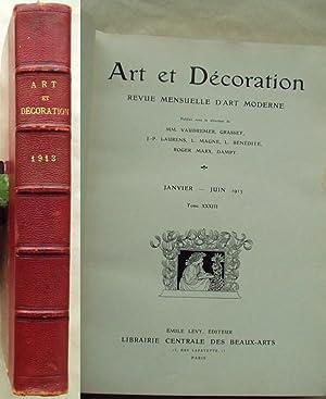 Revue Mensuelle Du0027Art Moderne January Through December 1913
