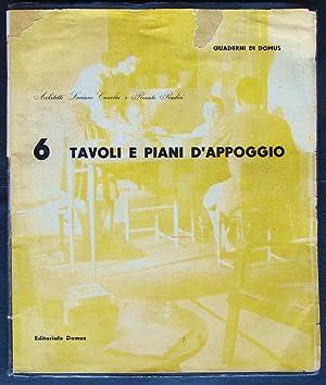 Quaderni Di Domus. 6 Tavoli e Piani: Pagani, Carlo