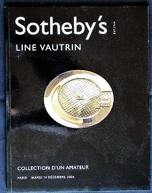 Line Vautrin. Collection d'un Amateur: Sotheby's