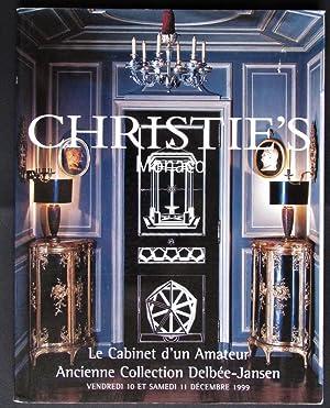 Le Cabinet Du0027un Amateur Ancienne Collection Delbee Jansen