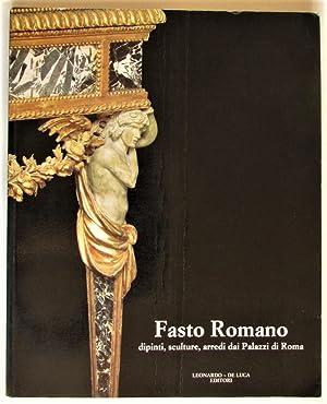 Fasto Romano dipinti, sculture, arredi dai Palazzi: González-Palacios, Alvar