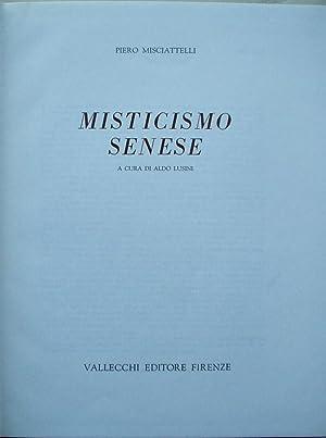 Misticismo Senese: Misciattelli, Piero