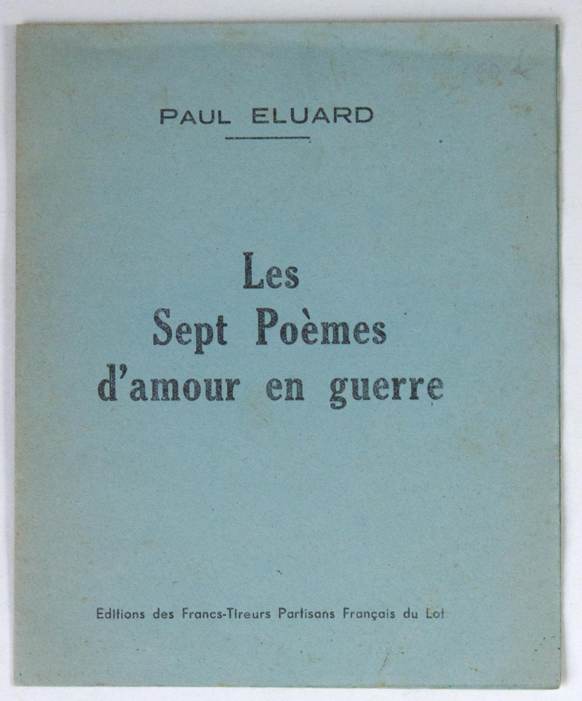Les Sept Poèmes Damour En Guerre