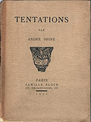 Tentations: Spire, André