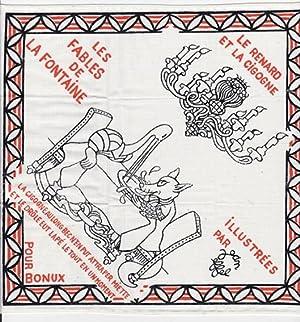 Mouchoir publicitaire illustré pour un cadeau Bonux: Effel, Jean (François