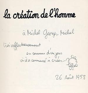 La Création de l'homme : le roman: Effel, Jean (François