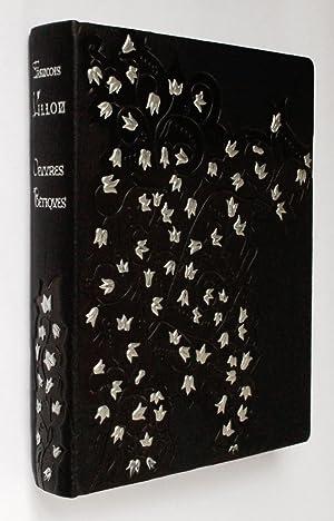 Oeuvres poétiques. Lithographies originales de Jansem.: Villon, François -